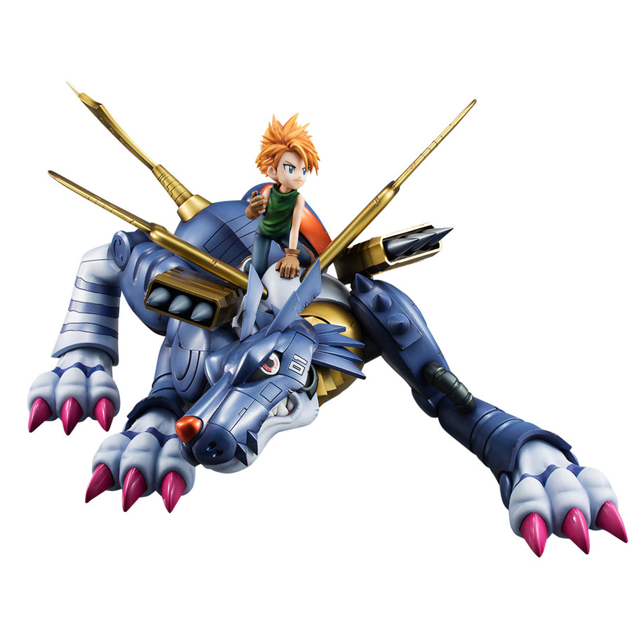 Precious G.E.M. Series Digimon Adventure Metal Garurumon & Ishida Yamato [repeat]