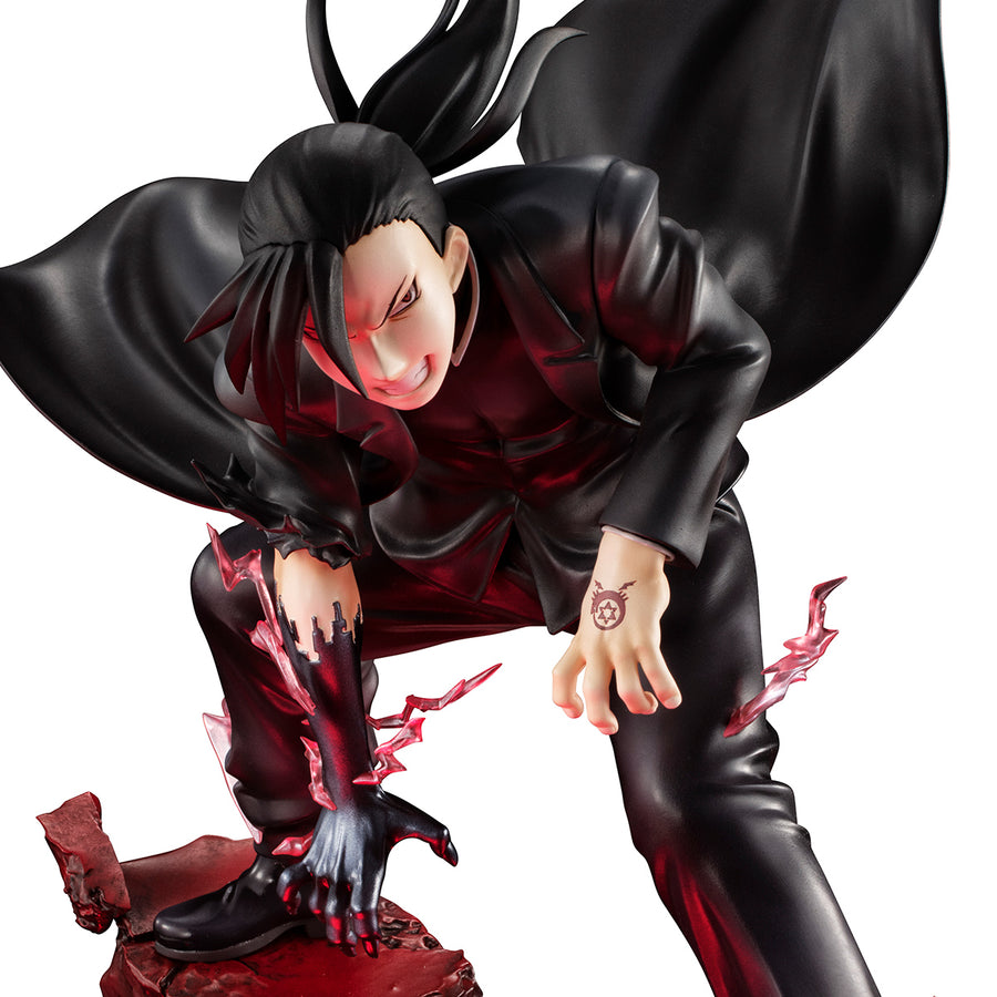 PRECIOUS G.E.M. SERIES FULLMETAL ALCHEMIST GREED(Lin・Yao)(With LED Base Stand)