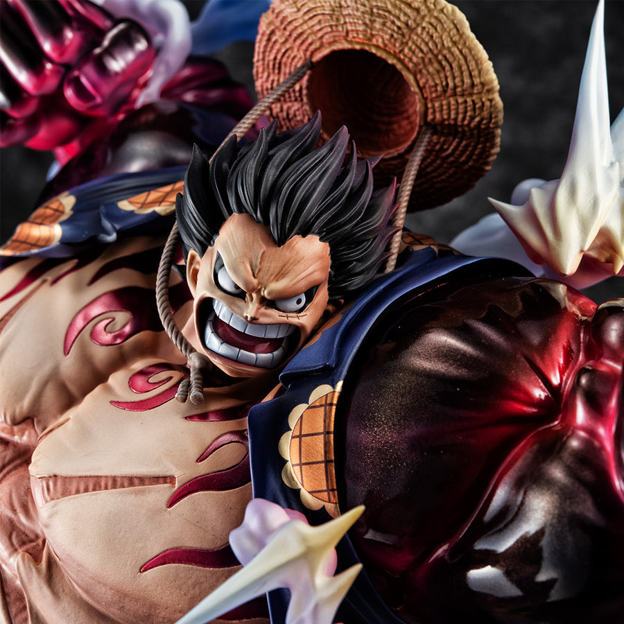 "PORTRAIT.OF.PIRATES ONE PIECE ""SA-MAXIMUM"" Monkey D. Luffy Gear Four ""Bounce man"" Ver.2"