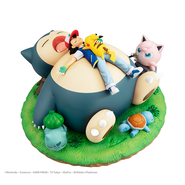 G.E.M. Series Pocket Monster a nap with Snorlax