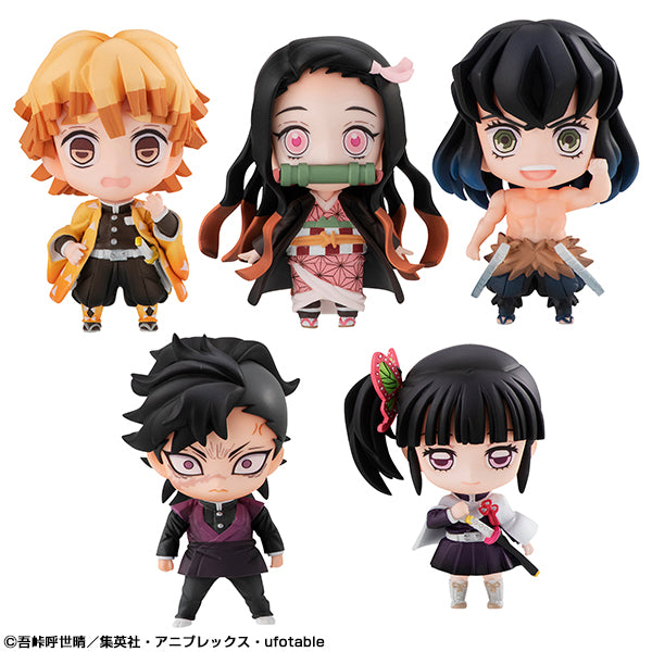 DEFORMATION FIGURE Demon Slayer Tanjiro & Friends Mascot Set
