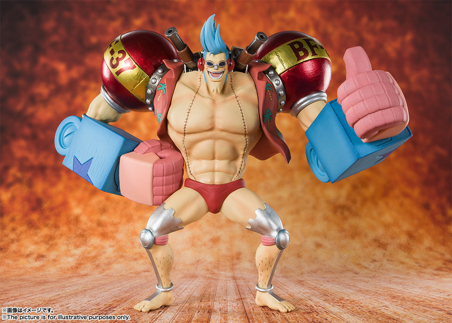 Figuarts Zero - One Piece - Iron Man Franky