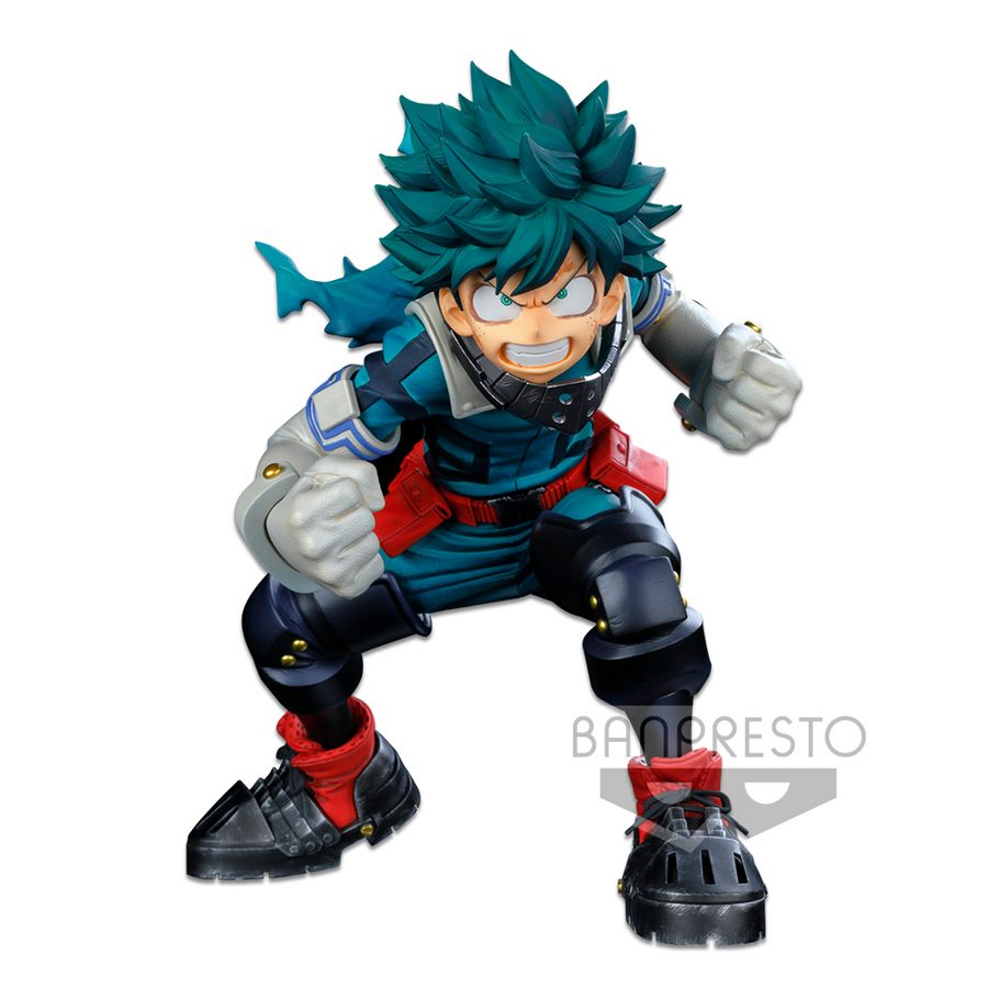 MY HERO ACADEMIA BANPRESTO WORLD FIGURE COLOSSEUM MODELING ACADEMY SUPER MASTER STARS PIECE THE IZUKU MIDORIYA