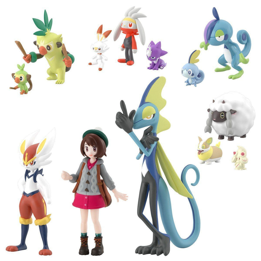 POKEMON SCALE WORLD GALAR REGION SET