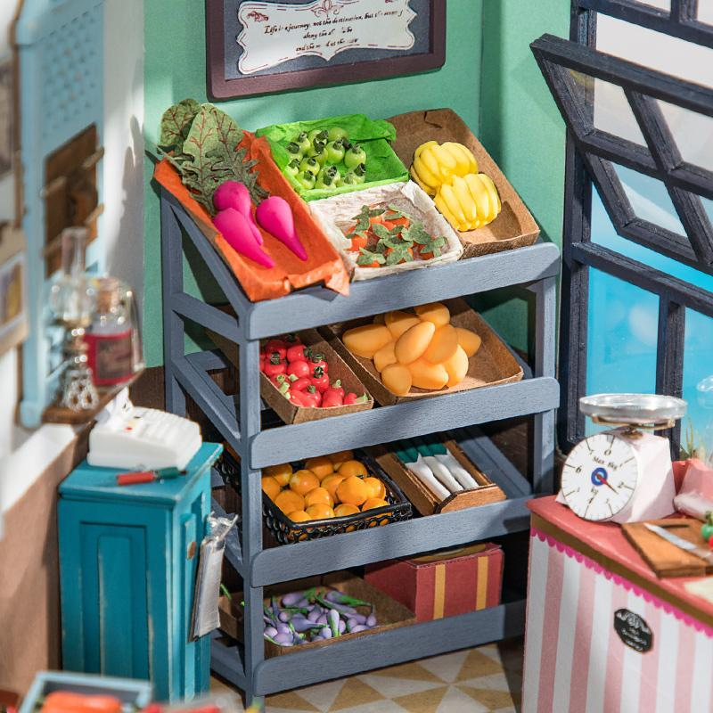 DIY Miniature : Carl's Fruit Shop