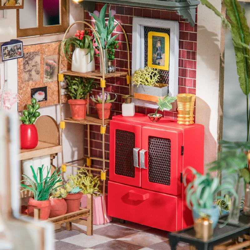 DIY Miniature : Emily's Flower Shop