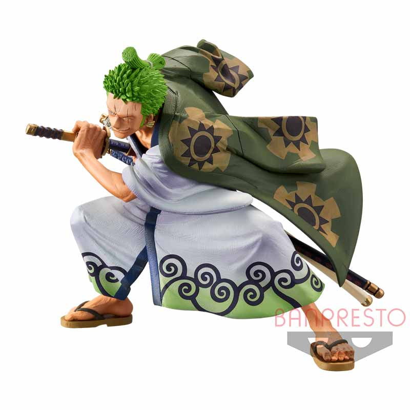 One Piece KING OF ARTIST THE RORONOA ZORO Wanokuni