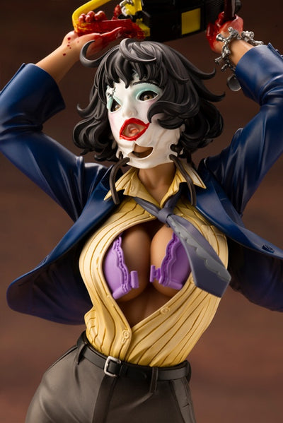 THE TEXAS CHAINSAW MASSACRE - LEATHERFACE CHAINSAW DANCE BISHOUJO STATUE - 1/7TH SCALE FIGURE