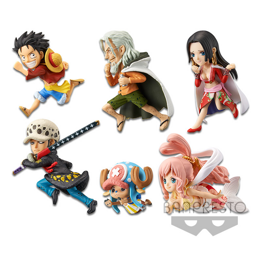ONE PIECE WORLD COLLECTABLE FIGURE HISTORY RELAY 20TH VOL.4 (SET)