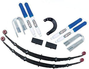 "Pro Comp K1125 4"" Lift Kit with Spring, Block and ES3000 Shocks for GM 2500 4WD"