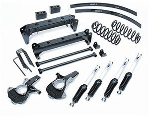 "Pro Comp K1078B 7"" Lift Kit with Knuckle, Block and ES9000 Shocks for GM 1500 2WD Pick-Up '99-'07"
