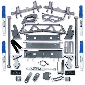 "Pro Comp K1044B 6"" Lift Kit with Bracket, Block and ES3000 Shocks for GM 2500 4WD '92-'99"