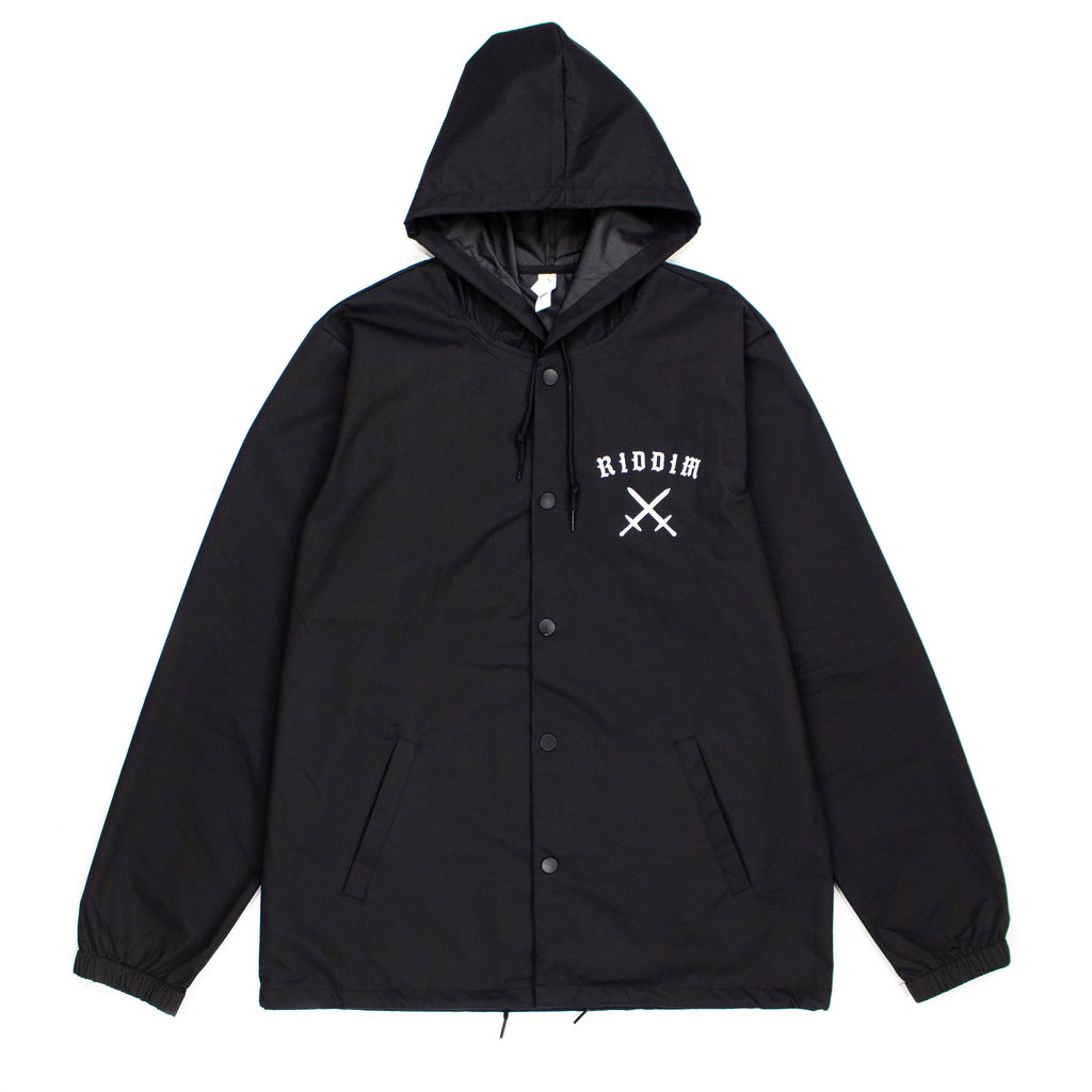 BLVCK Hooded Windbreaker