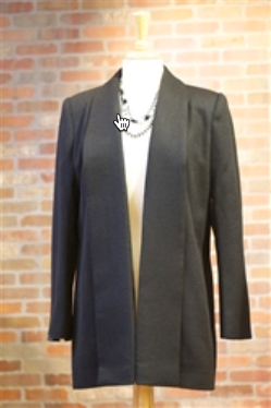 Ladies Baby Alpaca Shawl Collar Coat