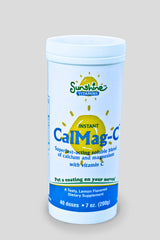 Instant CalMag-C - BEST Calcium Magnesium Formula w/ Vit C - For A Better Night Sleep