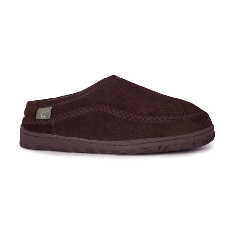 MEN PACIFIC SLIDEs CHOC LAOFERS