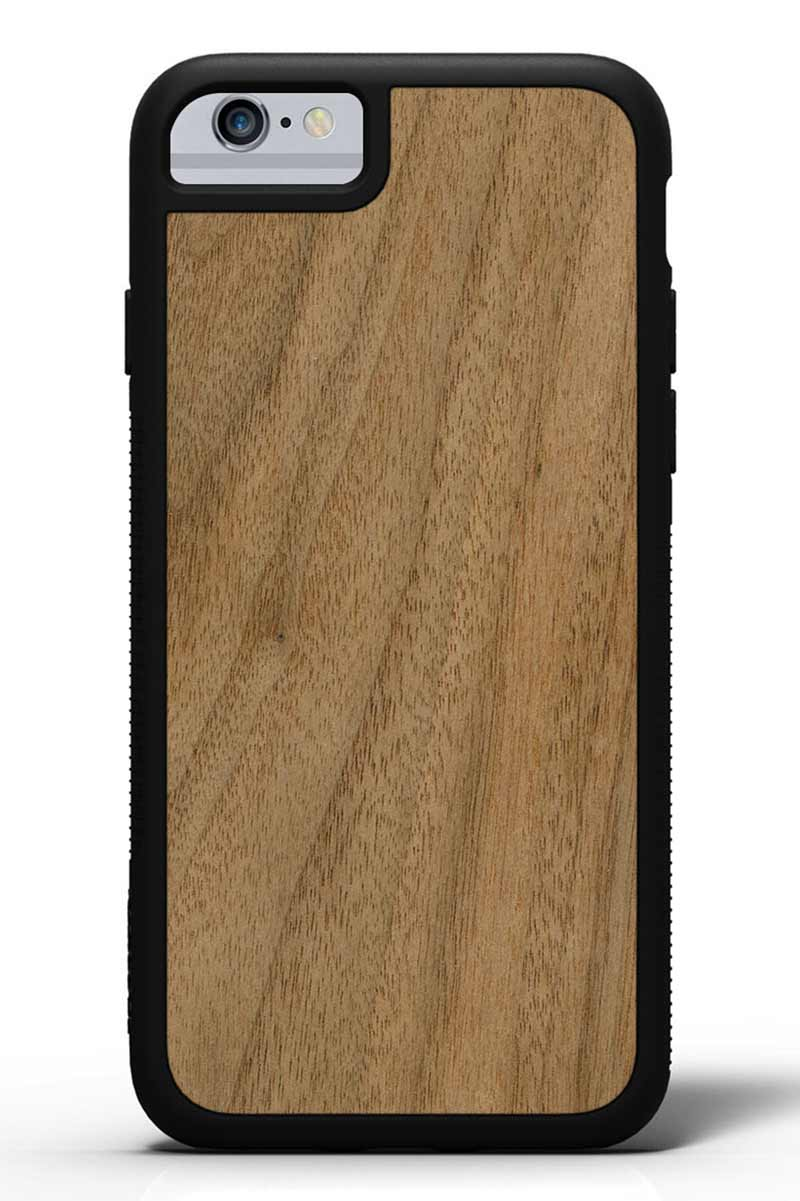iPhone 6s - Walnut - Black Traveler Protective Wood Case