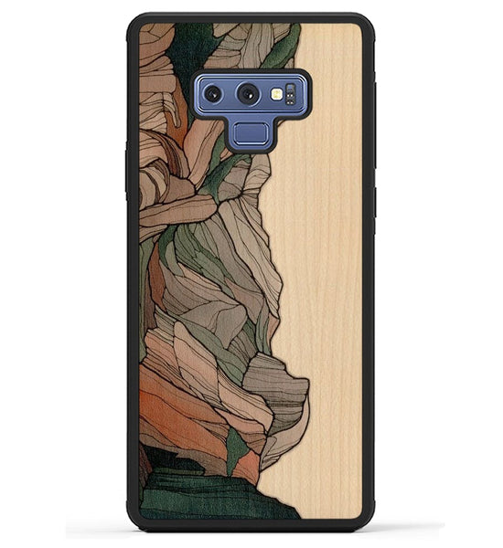 Samsung Galaxy Note 9 - Wood, Resin & Seashell Phone Cases