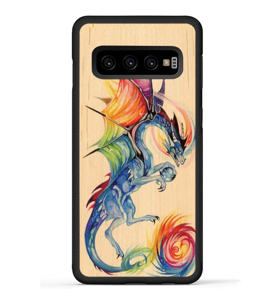 Rainbow Dragon - Galaxy S10 Phone Case