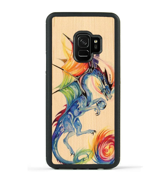 Rainbow Dragon - Galaxy S9 Phone Case