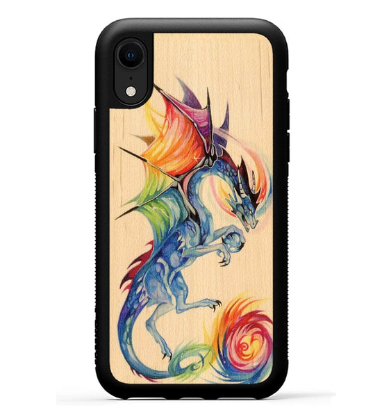 Rainbow Dragon - iPhone Xr Phone Case