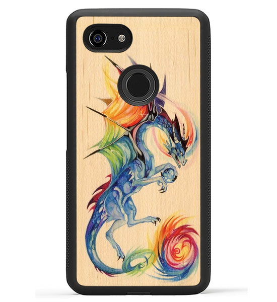 Rainbow Dragon - Pixel 3 XL Phone Case