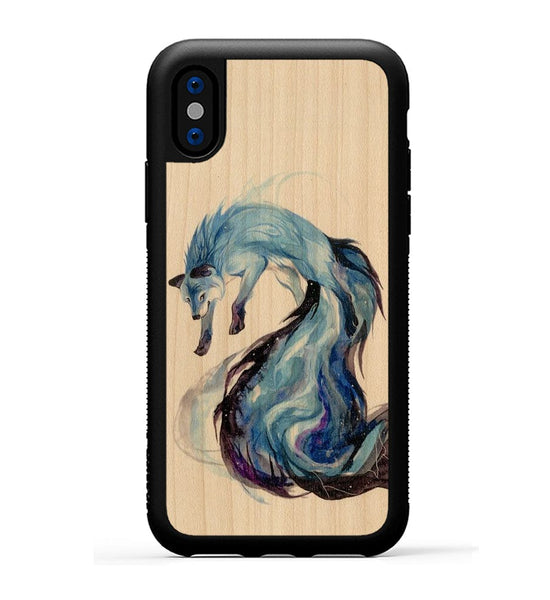 Galactic Fox - iPhone X Phone Case