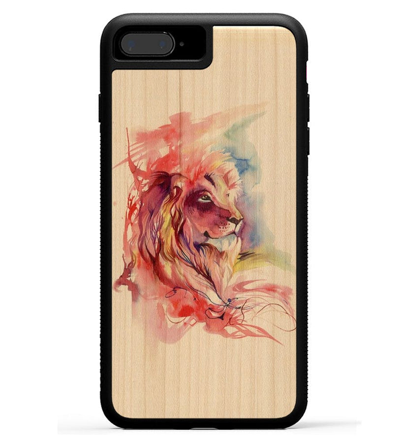 Lion Splash - iPhone 8 Plus Phone Case