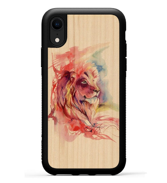 Lion Splash - iPhone Xr Phone Case