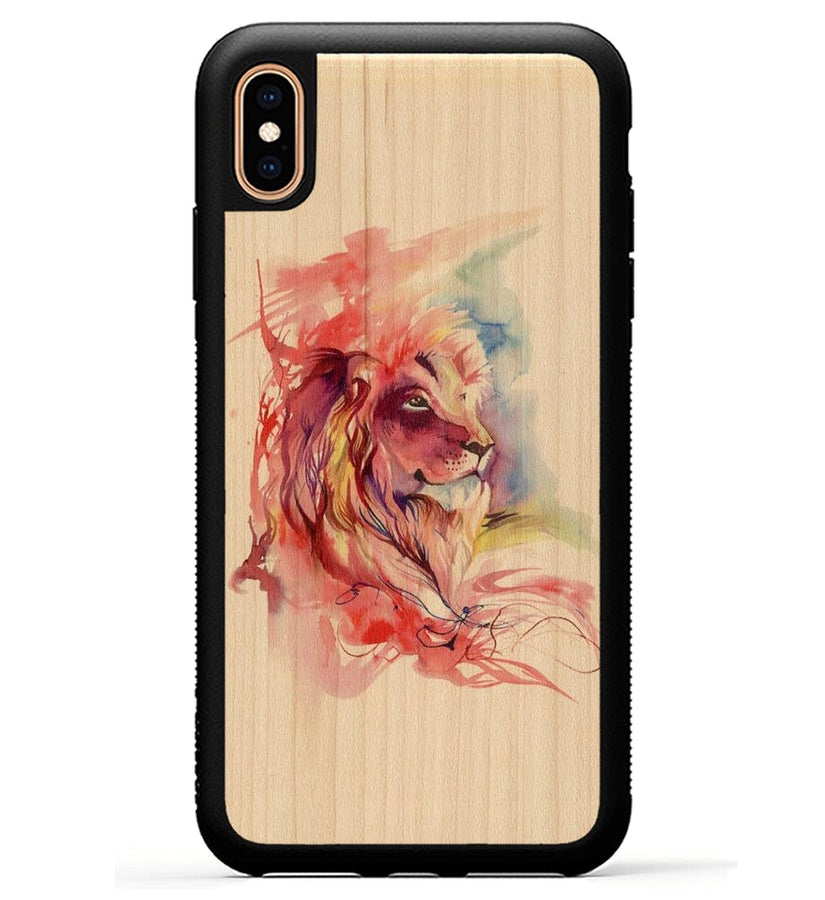 Lion Splash - iPhone Xs Max Phone Case