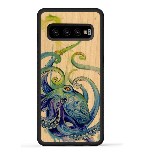 Rainbow Octopus - Galaxy S10 Phone Case