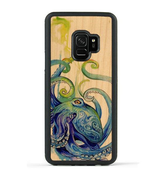 Rainbow Octopus - Galaxy S9 Phone Case