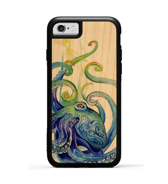 Rainbow Octopus - iPhone 6s Phone Case