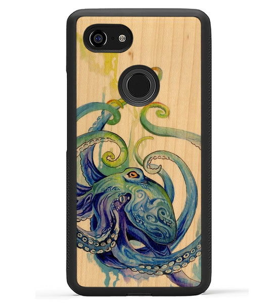 Rainbow Octopus - Pixel 3 XL Phone Case