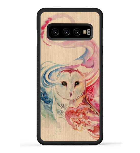 Rainbow Owl - Galaxy S10 Phone Case