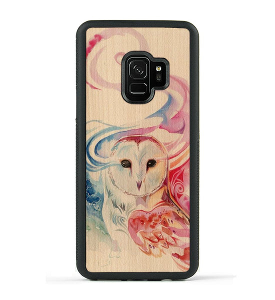 Rainbow Owl - Galaxy S9 Phone Case