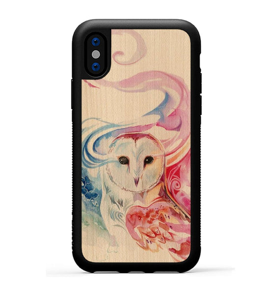 Rainbow Owl - iPhone X Phone Case