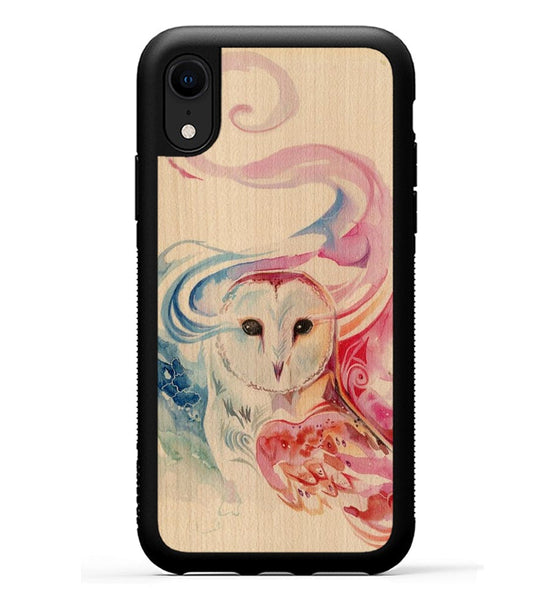 Rainbow Owl - iPhone Xr Phone Case