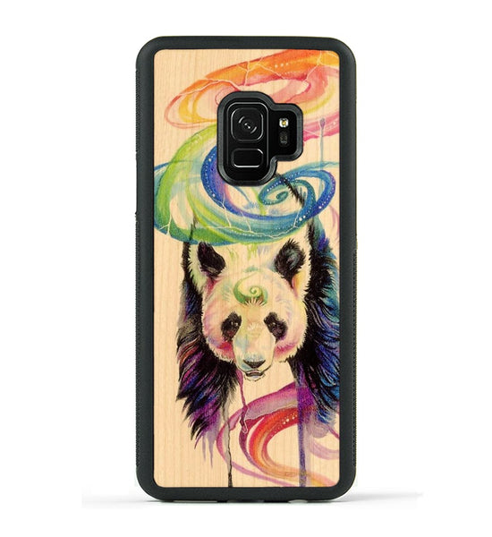 Rainbow Panda - Galaxy S9 Phone Case