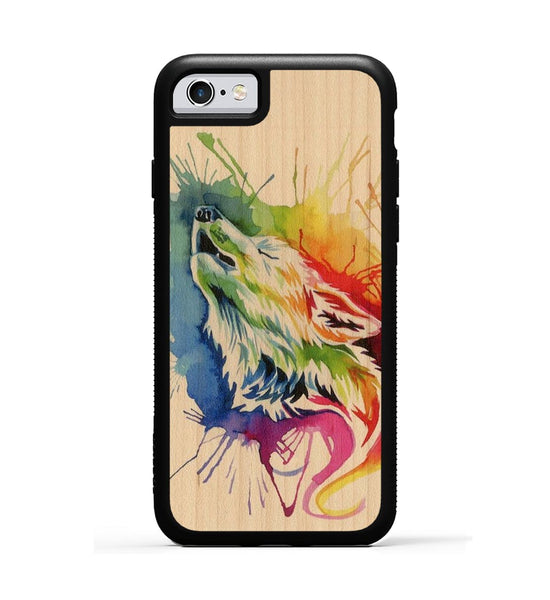 Rainbow Wolf - iPhone 6s Phone Case