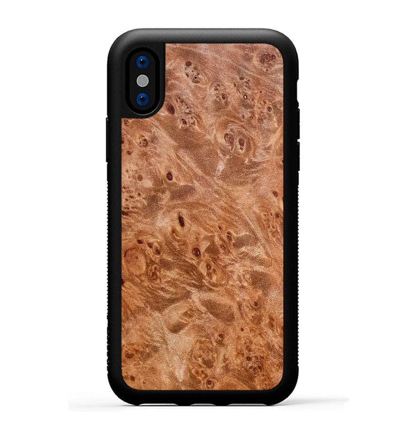 Maple Burl - iPhone X Phone Case
