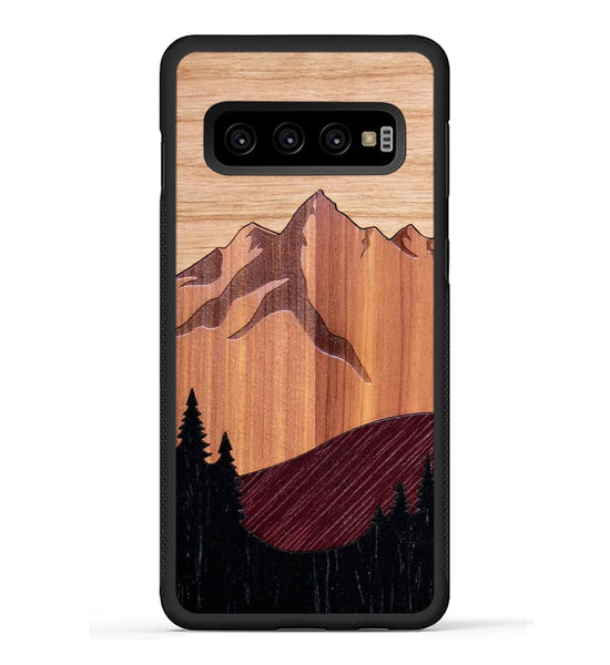 Mt Bierstadt Inlay - Galaxy S10 Phone Case