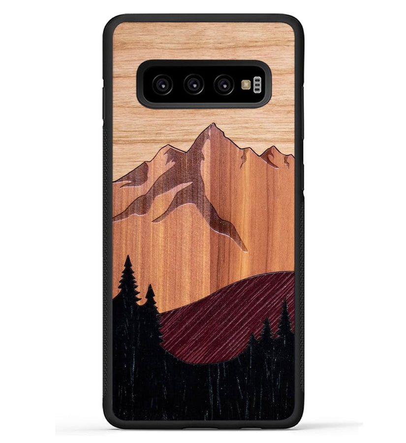 Mt Bierstadt Inlay - Galaxy S10 Plus Phone Case