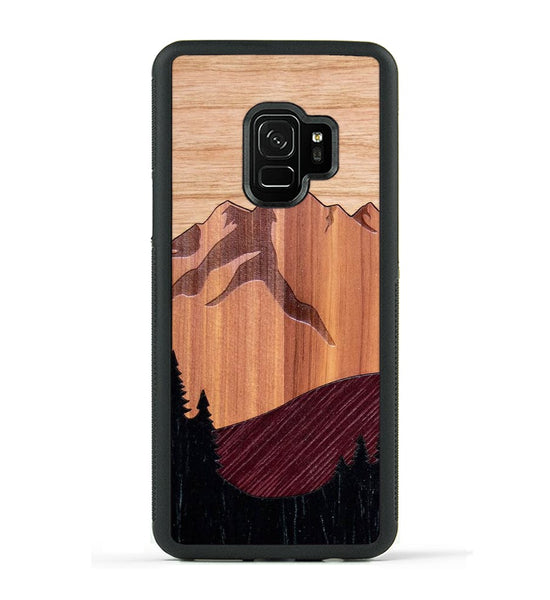 Mt Bierstadt Inlay - Galaxy S9 Phone Case