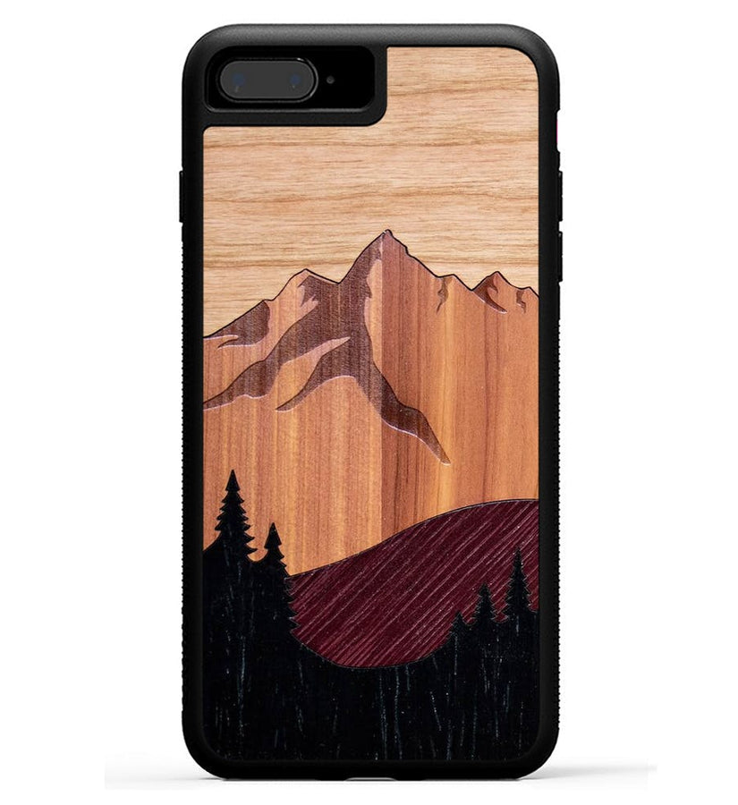 Mt Bierstadt Inlay - iPhone 8 Plus Phone Case