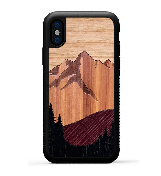 Mt Bierstadt Inlay - iPhone X Phone Case