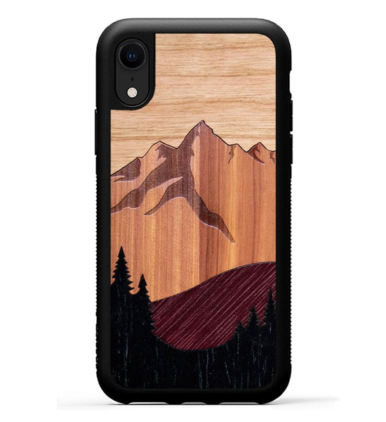 Mt Bierstadt Inlay - iPhone Xr Phone Case