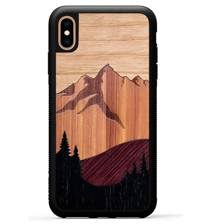 Mt Bierstadt Inlay - iPhone Xs Max Phone Case