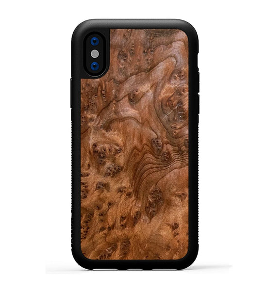 Redwood Burl - iPhone X Phone Case