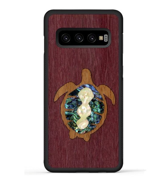 Sea Turtle Inlay - Galaxy S10 Phone Case